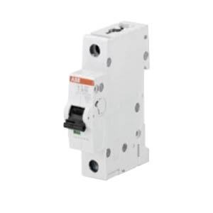 ABB S201-K10 System Pro M compact® Supplementary Protector; 10 Amp, 480Y/277 Volt AC, 1-Pole, DIN Rail Mount