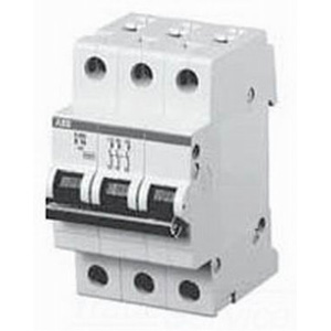 ABB S203-K30 System Pro M compact® Supplementary Protector; 30 Amp, 480Y/277 Volt AC, 3-Pole, DIN Rail Mount