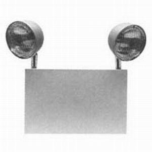 Cooper Lighting XR6C Sure-Lites Universal Mount Double Head Emergency Lighting; Halogen, White