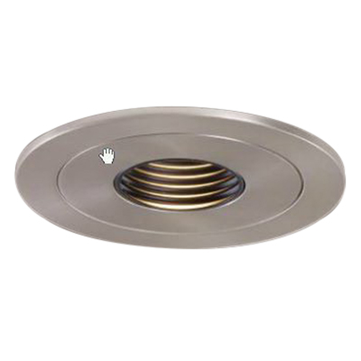 Cooper Lighting H1499RT Halo® 4 Inch Recessed Housing; 20 Gauge Cold-Rolled Steel, Non-Insulated Ceiling