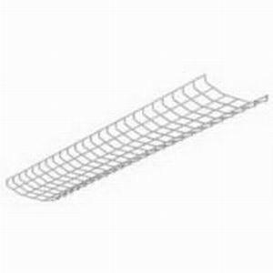 Cooper Lighting WG/ICF-4FT-B Metalux® Wire Guard; White