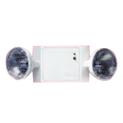 Cooper Lighting CC2 Sure-Lites Wall Mounting Double Head Emergency Lighting; Incandescent, Black