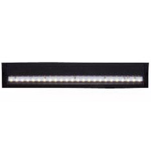 Cooper Lighting HU1024D830MB Halo® Surface Mount LED Under-Cabinet Light Fixture; 9.61 Watt, 707 Lumens, Black
