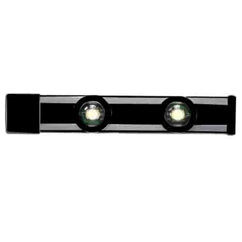 Cooper Lighting HU2024MB Halo® Track System; Matte Black, For HU20 Series Magnetic LED Puck Undercabinet