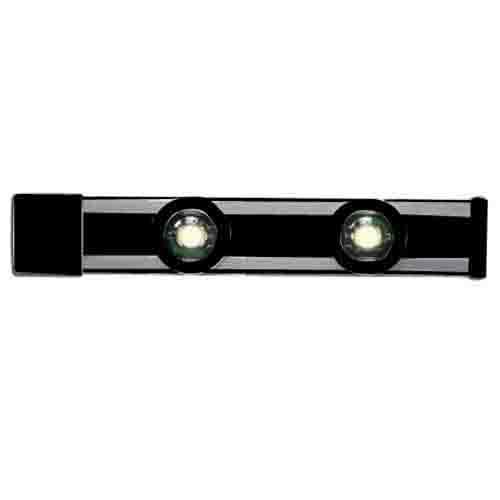 Cooper Lighting HU2018MB Halo® Track System; Matte Black, For HU20 Series Magnetic LED Puck Undercabinet