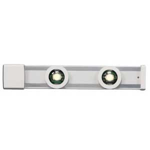 Cooper Lighting HU2024P Halo® Track System; White, For HU20 Series Magnetic LED Puck Undercabinet