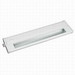 American Lighting 043X-1-WH 1-Light Under Shelf/Cabinet Mount Priori Series Xenon Hardwired Under-Cabinet Light Fixture; 20 Watt, 120 Volt, White, Lamp Included