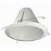 Nora NTM-713WAL Flanged 6 Inch Air-Tite Cone Baffle Trim; Precision Spun 0.04 Inch Aluminum Baffle