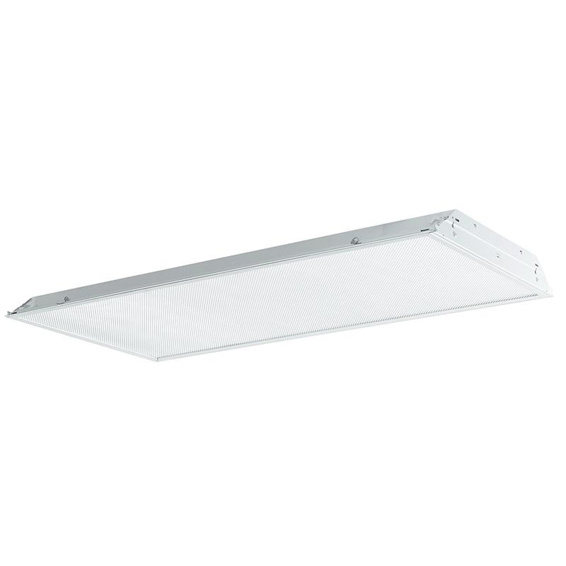Philips Day-Brite 2TG8432-01-UNV-2/2-EB 4-Light TG8 Fluorescent Lensed Troffer; 32 Watt, White, Lamp Not Included