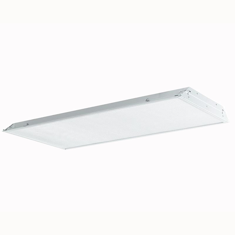 Philips Day-Brite 2TG8432-01-UNV-1/4-EB 4-Light TG8 Fluorescent Lensed Troffer; 32 Watt, White, Lamp Not Included