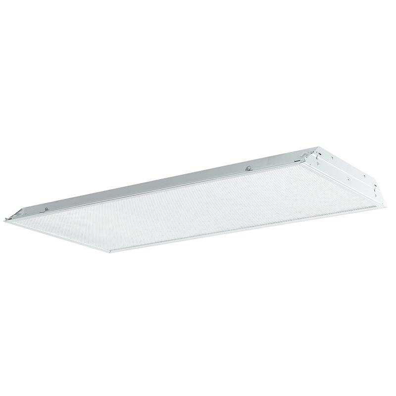 Philips Day-Brite 2TG8332-01-UNV-1/3-EB 3-Light TG8 Fluorescent Lensed Troffer; 32 Watt, White, Lamp Not Included