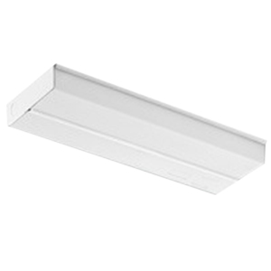 Lithonia Lighting / Acuity UC836 1-Light Fluorescent Low Profile Under-Cabinet Light Fixture; 25 Watt, 120 Volt, White, Lamp Not Included
