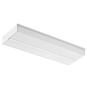 Lithonia Lighting / Acuity UC824 1-Light Fluorescent Low Profile Under-Cabinet Light Fixture; 17 Watt, 120 Volt, White, Lamp Not Included