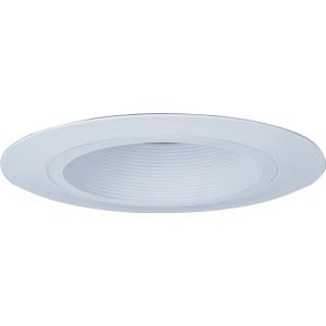 Lithonia Lighting / Acuity CB1W-R6 Wide Flanged 6 Inch Shallow Baffle Trim; Aluminum