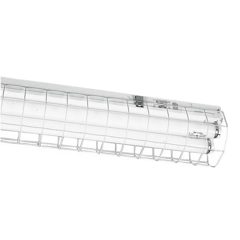 Lithonia Lighting / Acuity WGCUN-NST Wire Guard; White, For C and UN Series Fixture