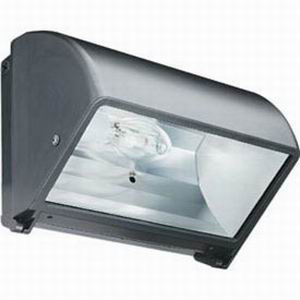 Lithonia Lighting / Acuity TWR1C-150M-TB-LPI 1-Light Box Mount Cut-Off Metal Halide Wall Pack; 150 Watt, Bronze, Lamp Included