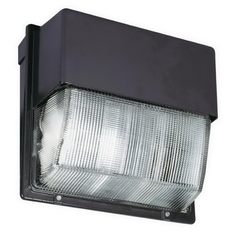 Wall Pack Light Fixtures Lithonia : Lithonia Lighting / Acuity TWH-LED-30C-50K 30-Light LED Wall Pack; 104 Watt, Dark Bronze ...