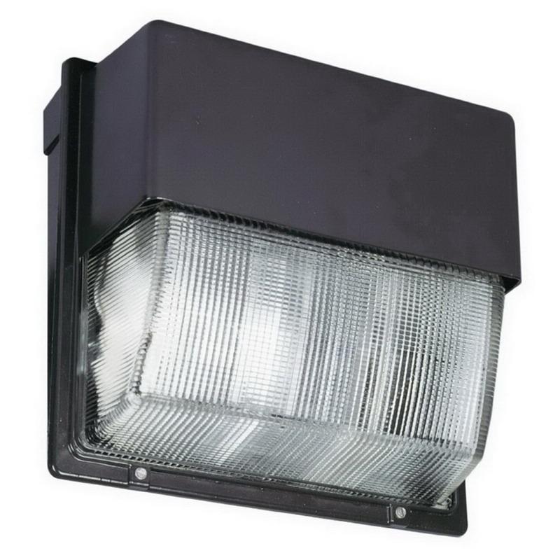 Lithonia Lighting / Acuity TWH-LED-30C-50K 30-Light LED Wall Pack; 104 Watt, Dark Bronze