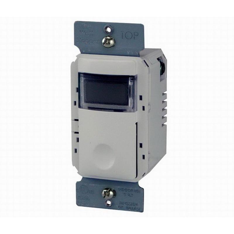 Watt Stopper TS-400-W Digital Timer Switch; 5 min to 12 Hour, White, 120 - 277 Volt AC
