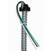 EPCO EPW1863SA Fixture Whip; 18 AWG Solid, 6 ft, Snap-In, Black/White/Green