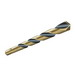 L.H. Dottie HS24 HSS 3-Flat Shank Split Point Jobber Length Drill Bit; 3/8 Inch, 5 Inch OAL, Black and Gold Oxide