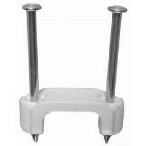 L.H. Dottie PLX505 Plastic Insulated Staple; 1/2 Inch, White