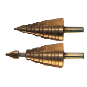 L.H. Dottie RTTP6030 Tip-Bit™ Step Drill Bit; 1/4 to 1-3/8 Inch, 11 Increments, High Speed M2 Steel, Titanium and Cobalt