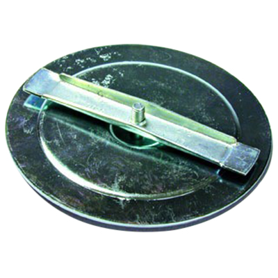 L.H. Dottie D10S Zinc-Plated Steel Knockout Seal; 1/2 Inch, 3-Piece