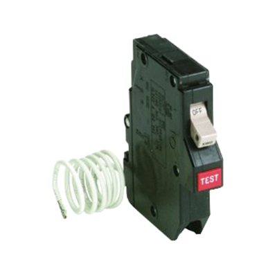 Eaton / Cutler Hammer CH115GF Ground Fault Circuit Breaker; 15 Amp, 120/240 Volt AC, 1-Pole, Plug-On Mount