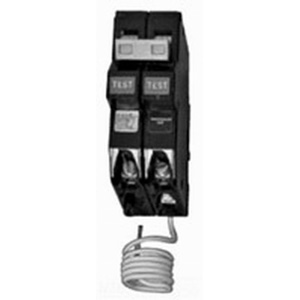 Eaton / Cutler Hammer CH220GF Ground Fault Circuit Breaker; 20 Amp, 120/240 Volt AC, 2-Pole, Plug-On Mount