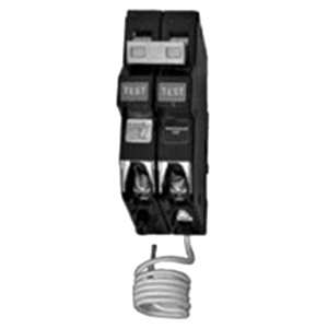 Eaton / Cutler Hammer CH230GF Ground Fault Circuit Breaker; 30 Amp, 120/240 Volt AC, 2-Pole, Plug-On Mount