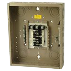Eaton / Cutler Hammer CH12L3125B Main Lug Load Center; 125 Amp, 208 Volt AC STAR/120 Volt AC, 240 Volt AC, 3 Phase, 12 Space, 12 Circuit, 4-Wire, Flush/Surface