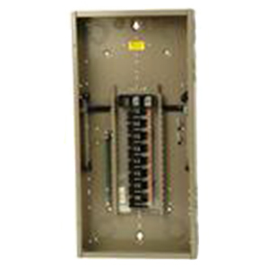 Eaton / Cutler Hammer CH32L150D Main Lug Load Center; 150 Amp, 120/240 Volt AC, 1 Phase, 32 Space, 32 Circuit, 3-Wire, Flush/Surface