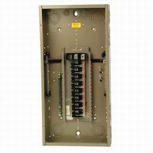 Eaton / Cutler Hammer CH32L225D Main Lug Load Center; 225 Amp, 120/240 Volt AC, 1 Phase, 32 Space, 32 Circuit, 3-Wire, Flush/Surface