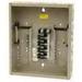 Eaton / Cutler Hammer CH12L125B Main Lug Load Center; 125 Amp, 120/240 Volt AC, 1 Phase, 12 Space, 12 Circuit, 3-Wire, Flush/Surface
