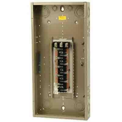 Eaton / Cutler Hammer CH30L3150D Main Lug Load Center; 150 Amp, 208 Volt AC STAR/120 Volt AC, 240 Volt AC, 3 Phase, 30 Space, 30 Circuit, 4-Wire, Flush/Surface
