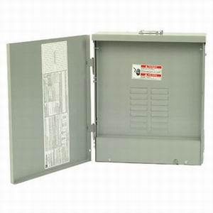 Eaton / Cutler Hammer CH20L125R Main Lug Load Center; 125 Amp, 120/240 Volt AC, 1 Phase, 20 Space, 20 Circuit, 3-Wire