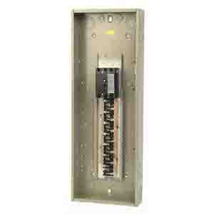 Eaton / Cutler Hammer CH12L3125R Main Lug Load Center; 125 Amp, 208 Volt AC STAR/120 Volt AC, 240 Volt AC, 3 Phase, 12 Space, 12 Circuit, 4-Wire
