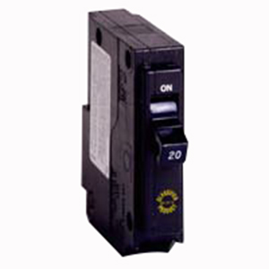 Eaton / Cutler Hammer CHQ130 Circuit Breaker; 30 Amp, 120/240 Volt AC, 1-Pole, Plug-On Mount