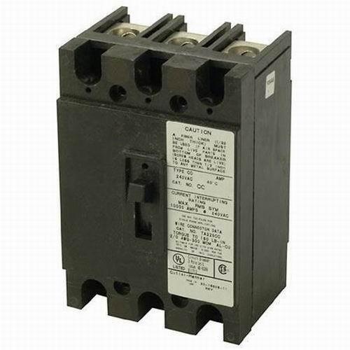 Eaton / Cutler Hammer CCH3200 Circuit Breaker; 200 Amp, 240 Volt AC, 3-Pole