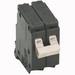 Eaton / Cutler Hammer CH2100 Circuit Breaker; 100 Amp, 120/240 Volt AC, 2-Pole, Plug-On Mount