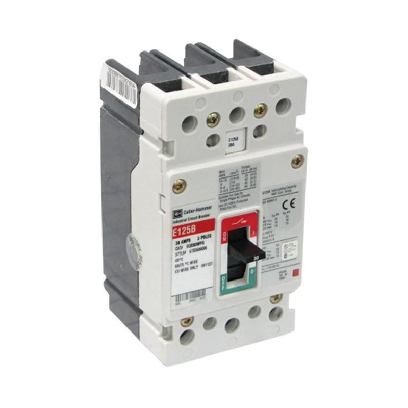 Eaton / Cutler Hammer EGB3125FFG G Series Molded Case Circuit Breaker 125 Amp 415/480 Volt 3-Pole