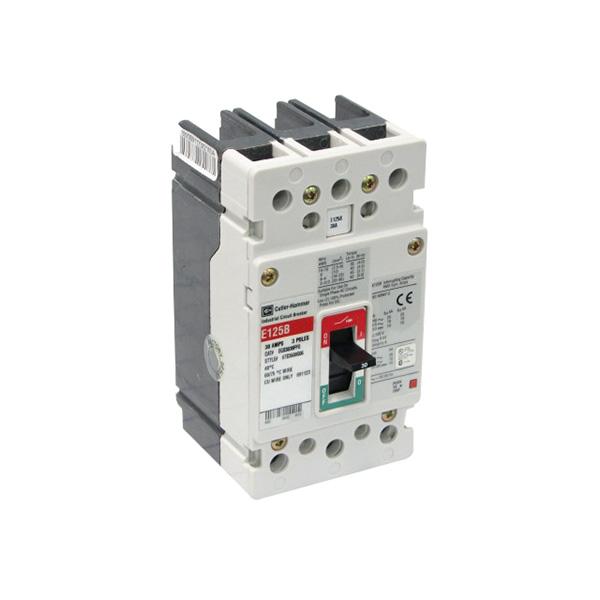 Eaton / Cutler Hammer EGB3040FFG G Series Molded Case Circuit Breaker; 40 Amp, 415/480 Volt, 3-Pole