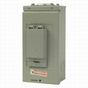 Eaton / Cutler Hammer CH2L70RP Main Lug Load Center; 70 Amp, 120/240 Volt AC, 1 Phase, 2 Space, 4 Circuit, 3-Wire
