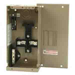 Eaton / Cutler Hammer CH2L70SP Main Lug Load Center; 70 Amp, 120/240 Volt AC, 1 Phase, 2 Space, 4 Circuit, 3-Wire, Surface Without Door