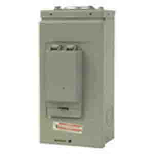 Eaton / Cutler Hammer CH2L125RP Main Lug Load Center; 125 Amp, 120/240 Volt AC, 1 Phase, 2 Space, 4 Circuit, 3-Wire