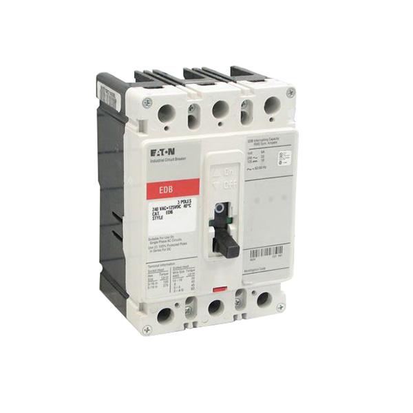 """""Eaton / Cutler Hammer EDB3100 Series C Molded Case Circuit Breaker 100 Amp, 240 Volt AC, 125 Volt DC, 3-Pole,"""""" 86958"