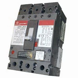 GE Distribution SELA36AT1125C Spectra RMS Molded Case Circuit Breaker 125 Amp  600 Volt AC  3-Pole