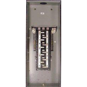 GE Distribution TL24415C PowerMark Gold™ Standard High-rise Main Lug Load Center; 150 Amp, 208 Volt AC STAR/120 Volt AC, 3 Phase, 1 Inch: 24 Space, 24 Circuit, 4-Wire, Flush/Surface