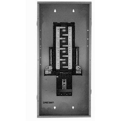 GE Distribution TM18410C PowerMark Plus® Standard Main Breaker Load Center; 100 Amp, 208 Volt AC STAR/120 Volt AC, 3 Phase, 1 Inch: 18, 1/2 Inch: 8 Space, 18 Circuit, 4-Wire, Flush/Surface